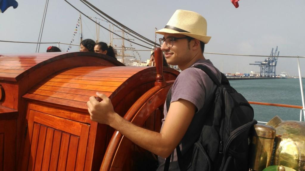 navegando a cadiz
